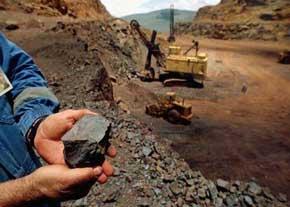 دانلود گزارش کارآموزی رشته معدن در معدن سنگ حوض ماهي اصفهان
