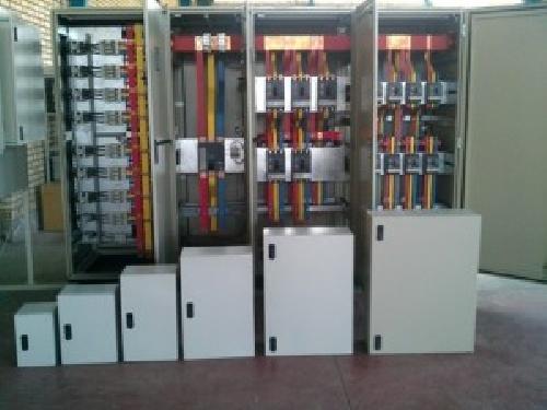 پروژه کارورزی رشته مهندسی برق ساخت و مونتاژ تابلوها ي فشار قوي و ضعيف بود