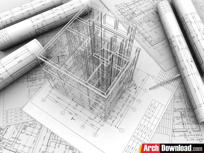 دانلود گزارش کارآموزی رشته معماری روند طراحی نقشه های ساختمانی در شرکت مشاوره ارکان توسعه