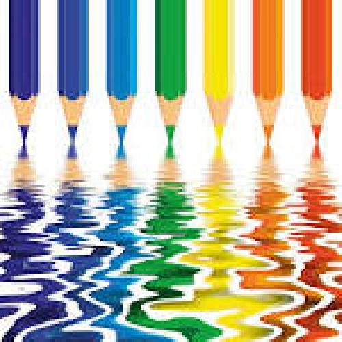 نمونه پروژه كارورزي رشته گرافیک با موضوع رنگ و تركيبها در گرافيك