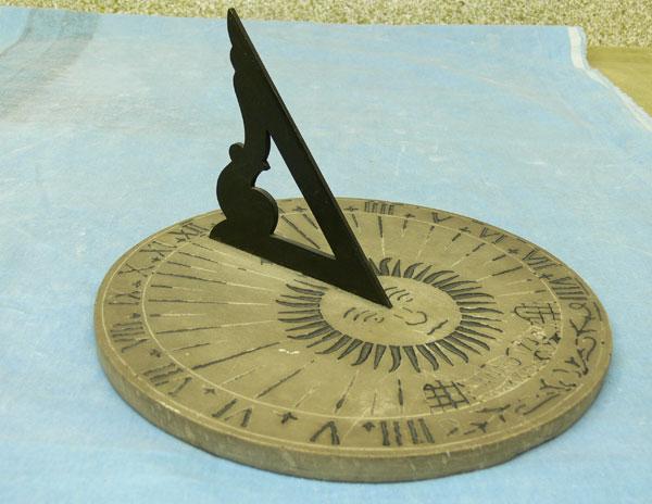 نمونه طرح جابربن حیان ساعت آفتابی
