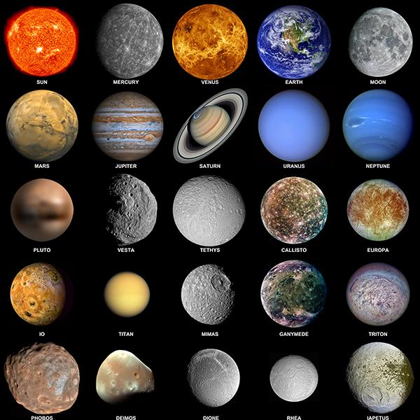 زیباترین طرح جابر با موضوع سیارات